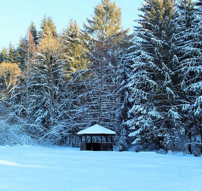 štýlová chata v krásnom horskom prostredí