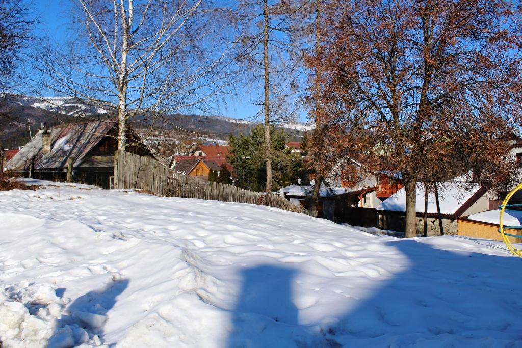 Pozemok na výstavbu rodinného domu, chaty horehronie