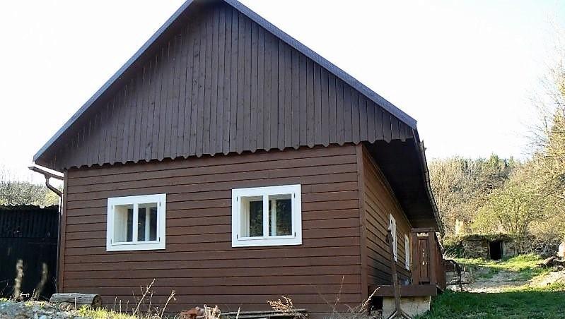 Novostavba chalupy na Bujakove pri Brezne